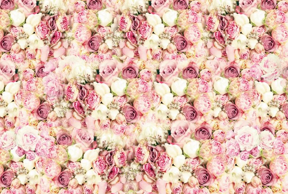 Fotobox Hintergrund Blumen Hochzeit